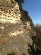 Rock Climbing Photo: Artifact Wall and Fowl Slab Wall