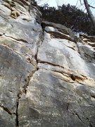 Rock Climbing Photo: The Batress 5.8, Batress Wall, Providence North