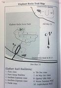 Rock Climbing Photo: Elephant Rocks SP Bouldering Map provided by Marcu...