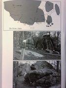 Rock Climbing Photo: Picnic Area Bouldering Map