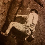 Rock Climbing Photo: Brad climbing No Way Out, spotted by Marcus Floyd ...