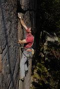 Rock Climbing Photo: First ascent of Release the Kraken.