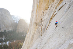 Rock Climbing Photo: Bryson Fienup climbs Simulkrime (5.9), below the A...