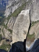 Rock Climbing Photo: Dropping into the Notch you get this great look