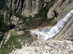 Rock Climbing Photo: Yosemite Falls such a view !