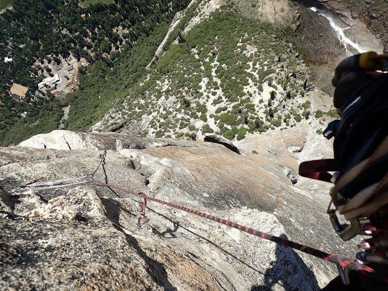 Looking back at the crux