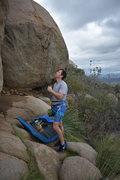 Rock Climbing Photo: seminar wall