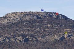 Rock Climbing Photo: The Mount Scott crags (also taken from Lake Lawton...