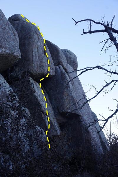 Rock Climbing Photo: Roof Crack