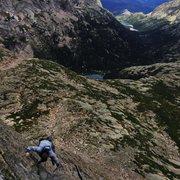 Rock Climbing Photo: Upper Headwall