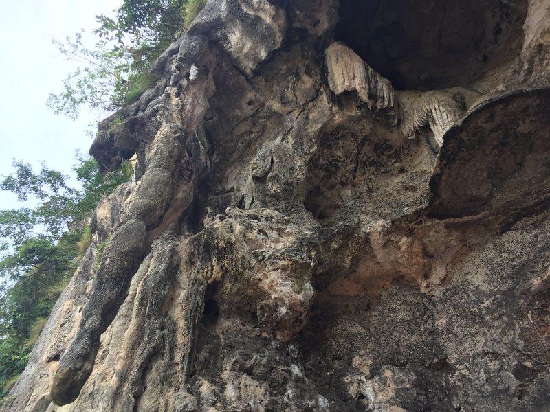 Rock Climbing Photo: Ramazon route