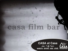 Chill night at Casa Film Bar. Jan 7, 17 at 7PM. Come on out if you're around.