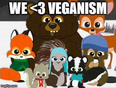 Vegans <3 solipsism!