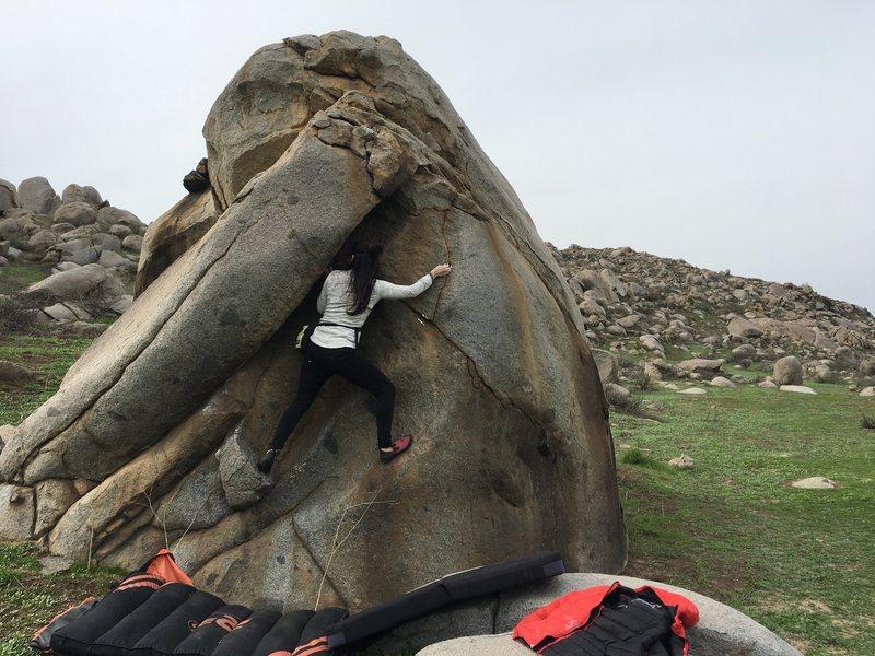 Rock Climbing Photo: Maduro: Nice warm up boulder.