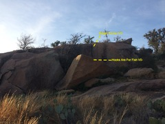 Rock Climbing Photo: Midget Corner is the crack in a short dihedral.  H...