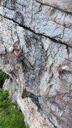 Rock Climbing Photo: enjoying a perfect gunks summer day!