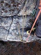 Rock Climbing Photo: New Anchor 11/16
