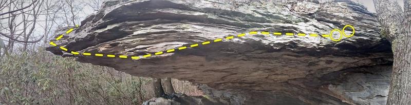 Rock Climbing Photo: Redneck Trapeze
