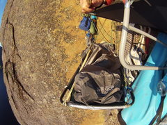 Rock Climbing Photo: We had chosen to go the DIY way for portaledges. I...