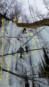 Rock Climbing Photo: Quarry Monster Left - 12-30-16