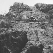 Rock Climbing Photo: Skip the first couple of bolts to the left of the ...