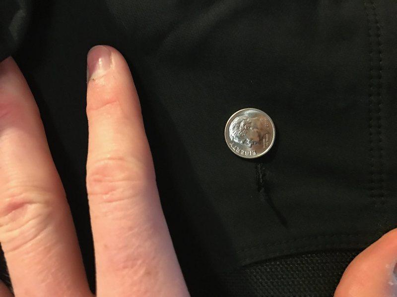 Super small hole