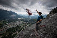 Rock Climbing Photo: The summit of The Prow Wall photo by Jeff Lewis
