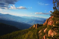 Rock Climbing Photo: The kind of views that await you atop the crag, be...