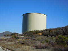 Rock Climbing Photo: Huge water tank overlooking Templin Hwy.