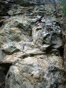 Rock Climbing Photo: Patty Black climbing at Vénosc - Les Étroits