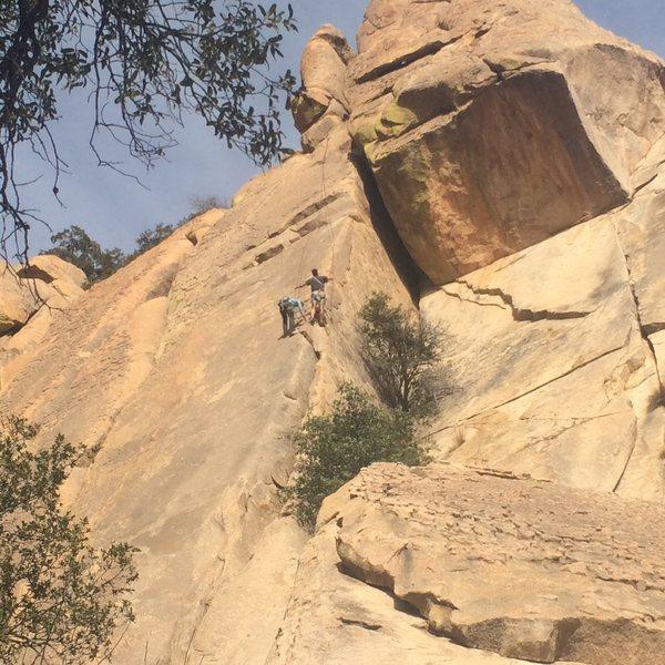Rock Climbing Photo: Cochise Dome