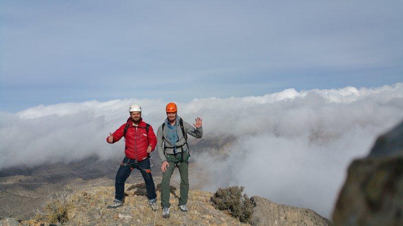 Rock Climbing Photo: At the top!