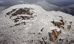 Rock Climbing Photo: Snowy Mountain living up to its name.
