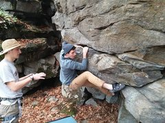 Rock Climbing Photo: Some bouldering with the U Mass Outing Club. Locat...