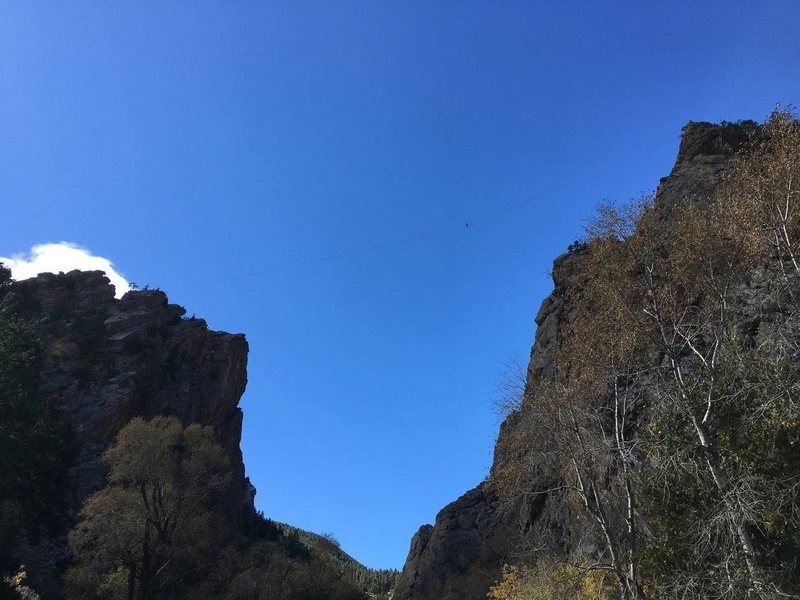 Rock Climbing Photo: Highline.