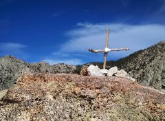 Rock Climbing Photo: Top of Tahquitz.