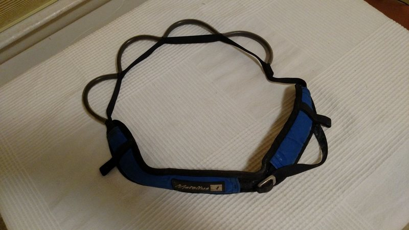 Rock Climbing Photo: Gear sling