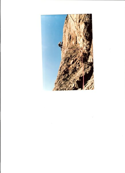 On 2nd ascent 1985.