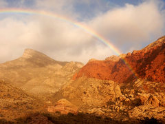 Rock Climbing Photo: Rainbow!