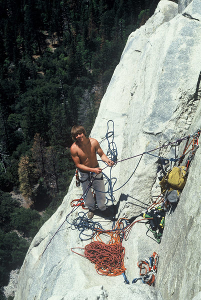 Rock Climbing Photo: Terry Lien, Sickle Ledge