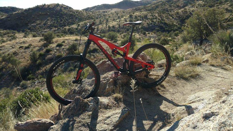 Rock Climbing Photo: Lower Bug Springs morning bike ride!