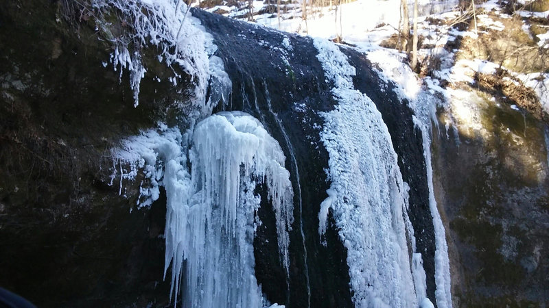 Rock Climbing Photo: Stephen's Falls left