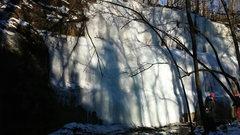 Rock Climbing Photo: stephen's falls - right