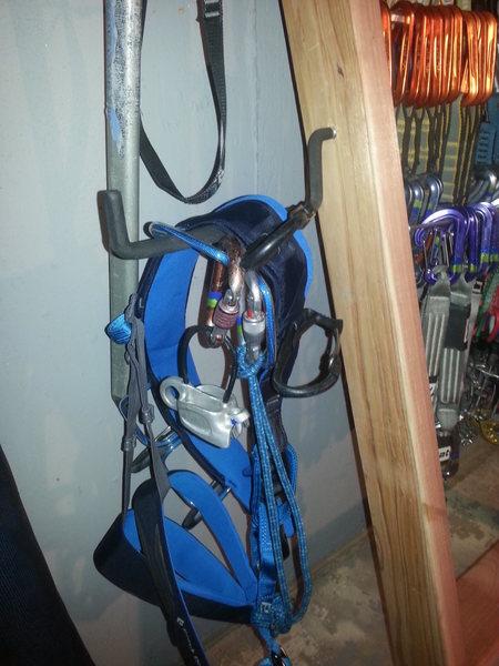 Gear Rack Harness Hook