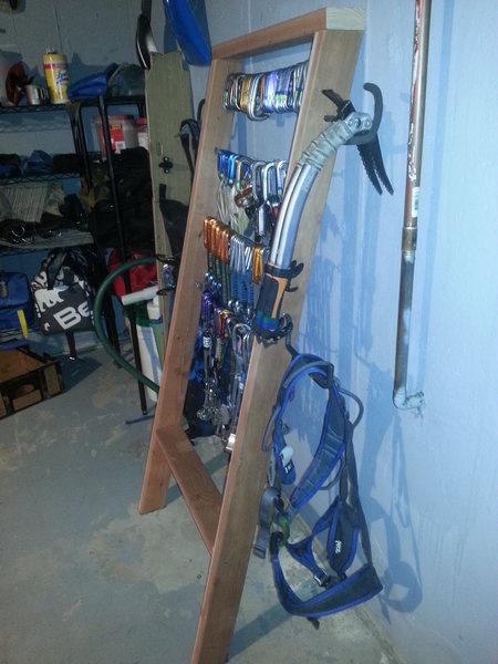 Gear Rack Side View