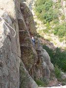 Rock Climbing Photo: Sean Burton on Sundown