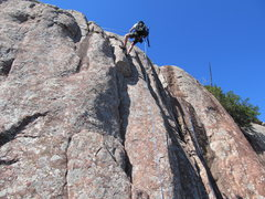Rock Climbing Photo: Cole Barritt rapping