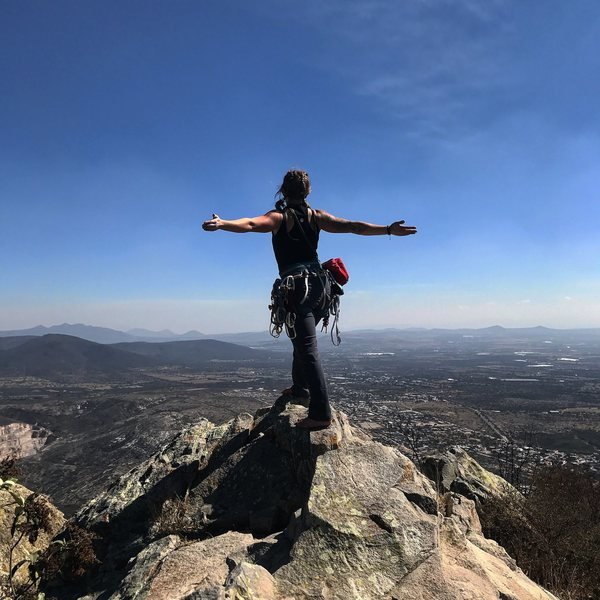 Rock Climbing Photo: Top of third largest monolith in the world