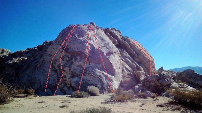 Rock Climbing Photo: Coyote Corner