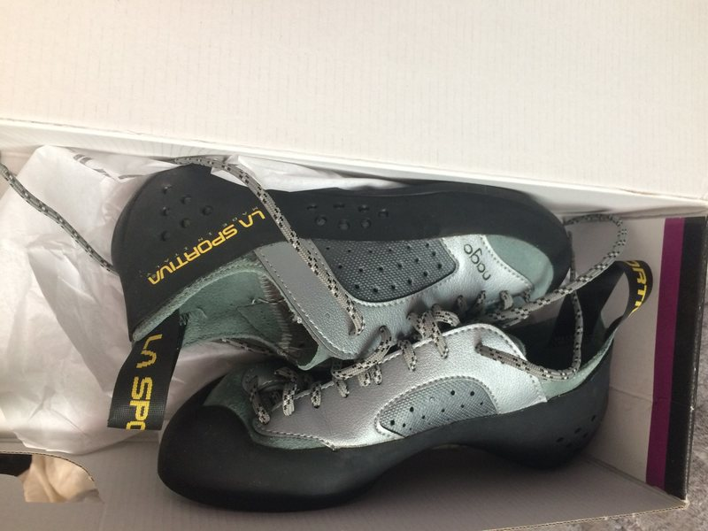 Rock Climbing Photo: FS: La Sportiva Nago climbing shoes size 36.5